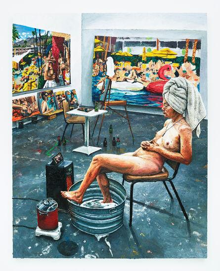 Joey Wolf, 'Ava in the Studio', 2017