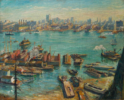 Max Kuehne, 'Across the Hudson', Date unknown