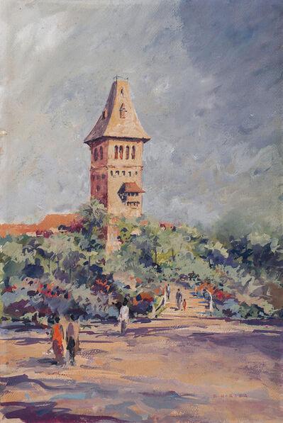 S. H. Raza, 'Untitled (Landscape)'