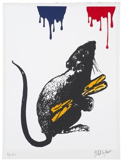 Blek le Rat, 'Rat No 5', 2019