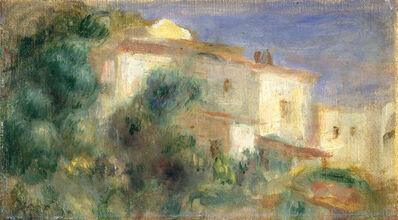 Pierre-Auguste Renoir, 'Maison de la Poste, Cagnes', 1906/1907