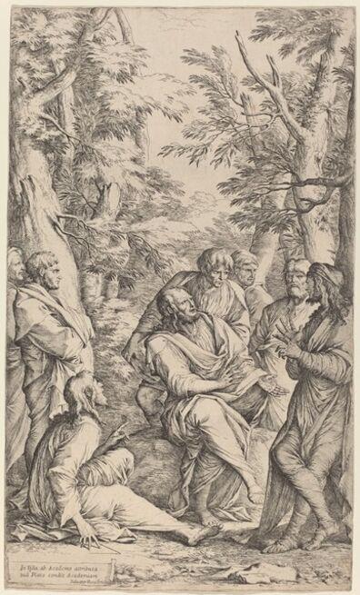 Salvator Rosa, 'The Academy of Plato'