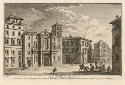 Giuseppe Vasi, 'Chiesa di S. Maria in Monticelli', 1747