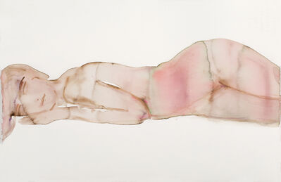 Kim McCarty, 'Brown/Pink Magenta Reclining - Small', 2017