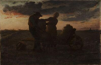 Jean-François Millet, 'The Potato Gatherers', ca. 1853
