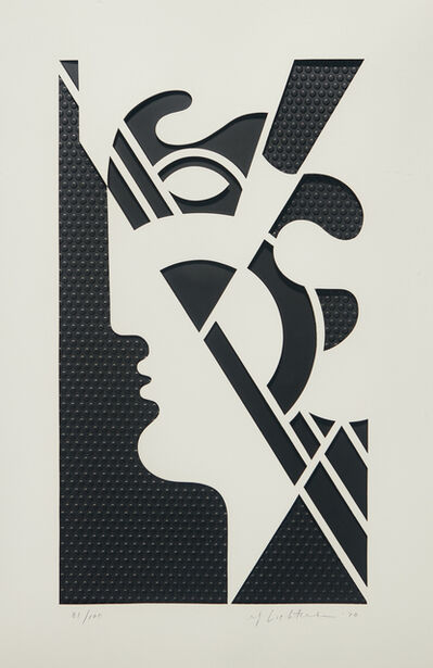 Roy Lichtenstein, 'Modern Head #5, from Modern Head series', 1970