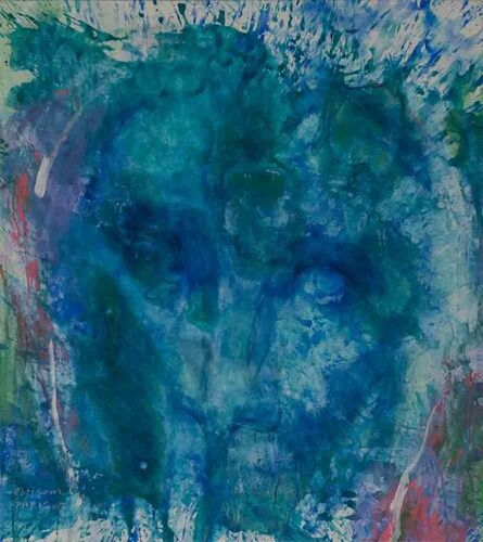 Ebtisam Al Saffar, 'The Remaining Face 2', 2017
