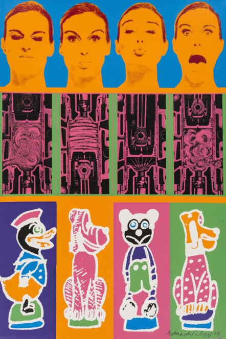 Eduardo Paolozzi, 'Secrets of the Internal Combustion Engine', 1967