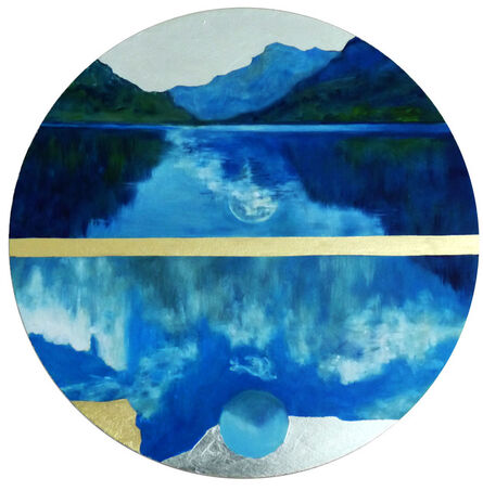 Dirk Klose, 'Global, Marmolata lake (South Tyrol)', 2020