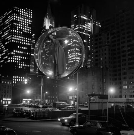 Melvin Sokolsky, 'Free Bubble Parking', 1963
