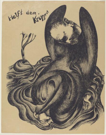 Heinrich Hoerle, 'Helft dem Krüppel (Help the Cripples)', 1920