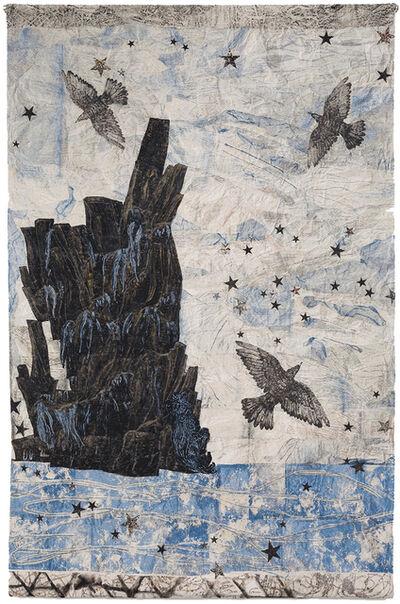 Kiki Smith, 'Harbor, (Ocean-rocks-birds)', 2015