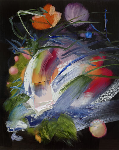 Elise Ansel, 'Flowers in a Glass Vase VII', 2021