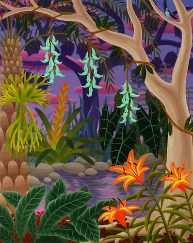 Amy Lincoln, 'Jungle with Jade Vine', 2016