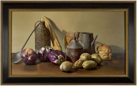 Jeanne Duval, 'Still Life with Bottle & Tin', 1995