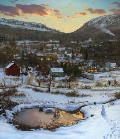 Scott Prior, 'Valley in Winter', 2014