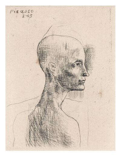 Pablo Picasso, 'Buste D'Homme (Bloch 4)', 1905