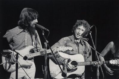 Bill Ray, 'George Harrison and Bob Dylan, The Concert for Bangladesh', 1971-printed later
