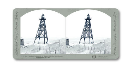Jeff Brouws, 'Stereograph 1591 (Montana) from American Industrial Heritage Series', 2015