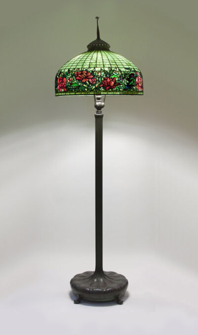 Tiffany Studios, 'Peony Border Senior Floor Lamp', ca. 1910
