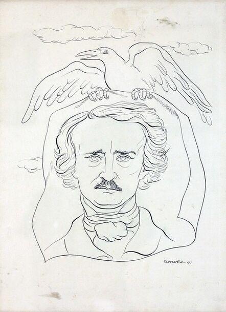 Mario Carreño, 'Edgar Allen Poe', 1941