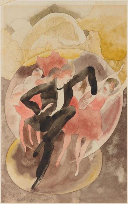 Charles Demuth, 'In Vaudeville (Dancer with Chorus)', 1918
