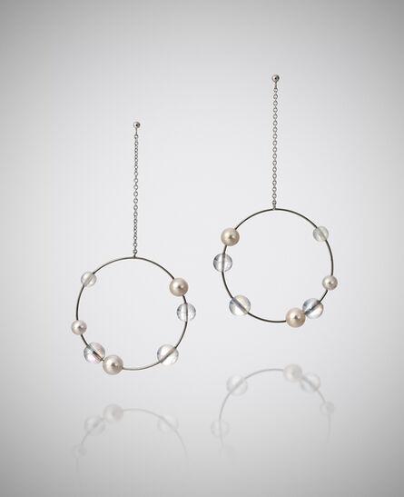 Mariko Mori, ''Planets' Earrings', 2013