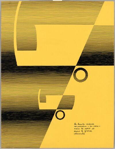 Michel Seuphor, 'La haute science se promène', 1967