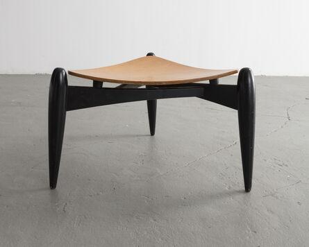 "Ilmari Tapiovaara, '""Tale"" stool in birch and birch laminated plywood', 1953"