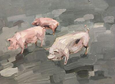 Topi Ruotsalainen, 'Three little pigs', 2018