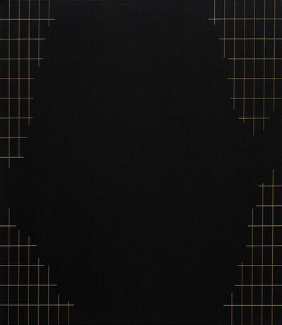 Valdirlei Dias Nunes, 'Sem título (grade com grande recorte) [untitled (grid with large trim)]', 2017