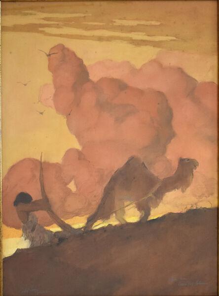Abel Pann, 'Study for Cain was a Plowman | Étude pour Caïn fil laboureur', unknown