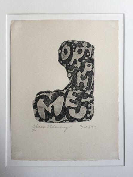 Claes Oldenburg, 'Orpheum Sign', 1962