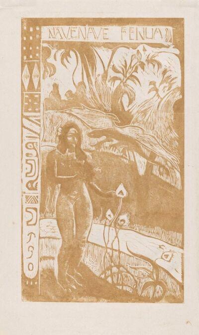 Paul Gauguin, 'Have Nave Fenua', 1893-4