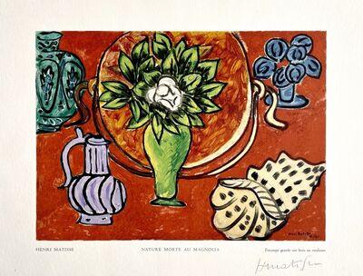 Henri Matisse, 'Nature Morte au Magnolia', 1950