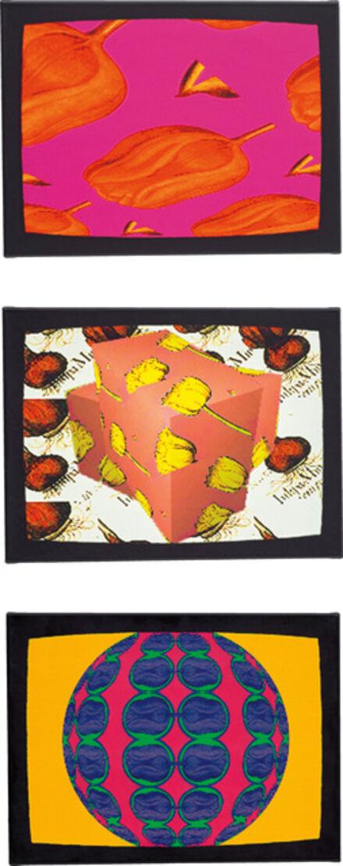 Nam June Paik, 'TV Tulips: three works', 2000