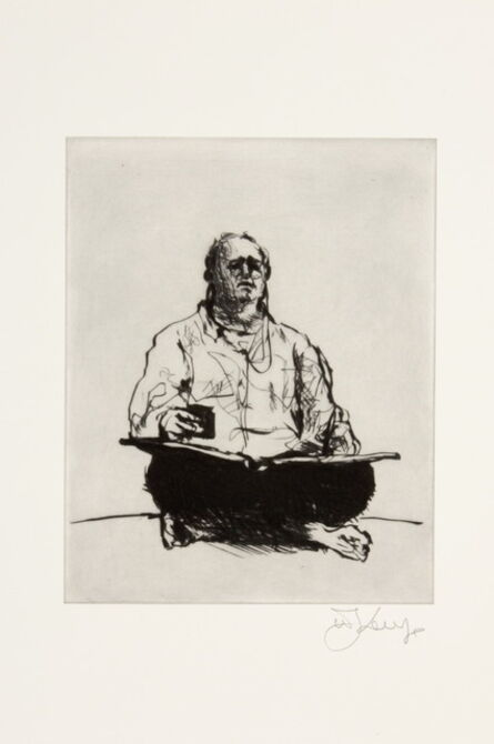 William Kentridge, 'Scribe', 2011