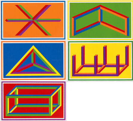 Sol LeWitt, 'Isometric Figure 1-5', 2002