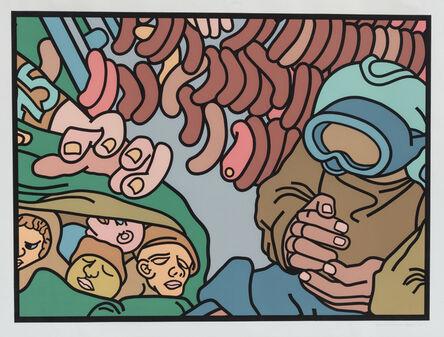 Bernard Aptekar, 'The Hot Dog Man', 1981
