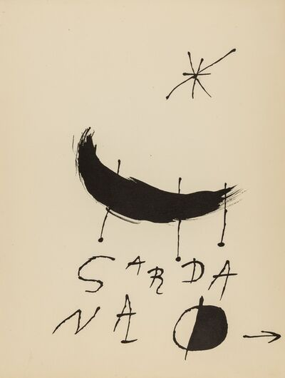Joan Miró, 'Les Essences de la Terra (Cramer books 123)', 1968