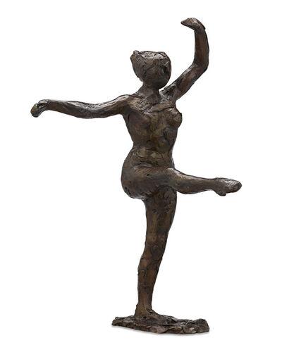 Edgar Degas, 'Fourth Position Front, on the Left Leg', 1998