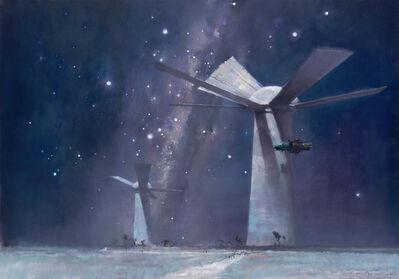 John Harris, 'Sunflowers in Starlight', 2012