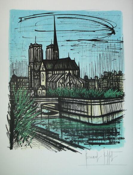 Bernard Buffet, 'Le Jardin de L'evéché', 1968