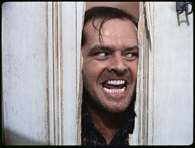 Stanley Kubrick, 'The Shining, directed by Stanley Kubrick (1980; GB/United States). Jack Nicholson as Jack Torrance.', 1980