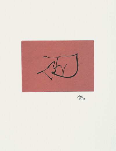 Robert Motherwell, 'Ulysses: Music', 1988