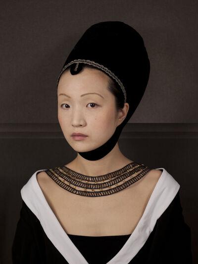 E2 - KLEINVELD & JULIEN, 'Ode to Petrus Christus' Portrait of a Woman', 2012