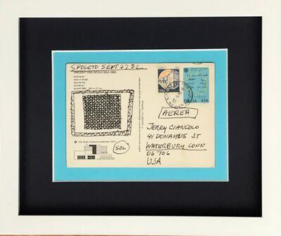 Sol LeWitt, 'Original ink drawing', 1982