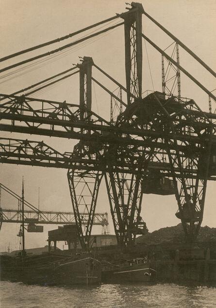 Germaine Krull, 'Pont roulant, Rotterdam (Bridge Crane, Rotterdam)', 1926