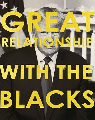 Chris Kienke, 'Great Relationship With The Blacks', 2020