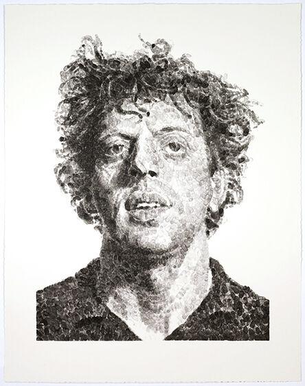 Chuck Close, 'Phil/Fingerprint', 2009